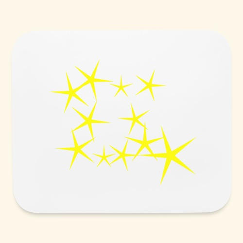 bright stars - Mouse pad Horizontal