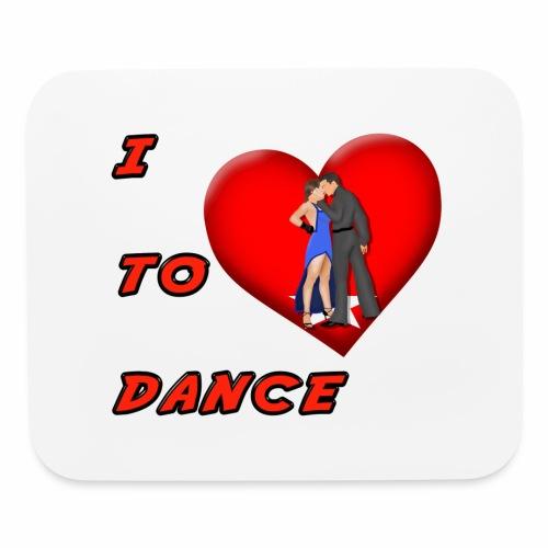 I Heart Dance - Mouse pad Horizontal