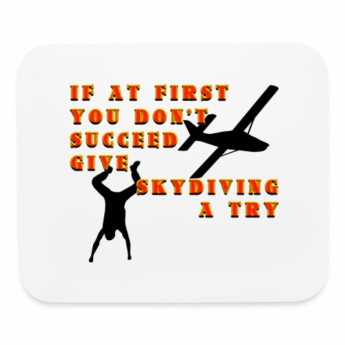 Try Skydiving - Mouse pad Horizontal