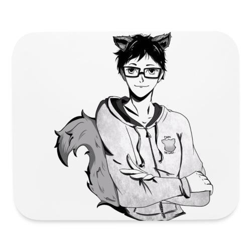 Chuki the Wolf Fanart - Mouse pad Horizontal