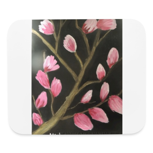 Magnolia Buds Early Spring - Mouse pad Horizontal