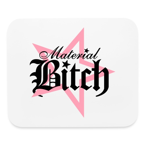 Material Bitch Logo - Mouse pad Horizontal
