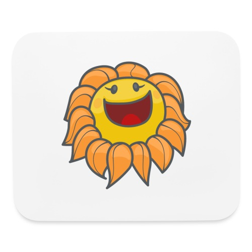 Happy sunflower - Mouse pad Horizontal