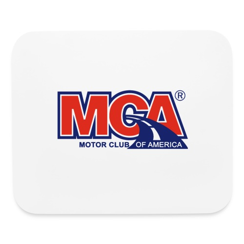MCA_Logo_WBG_Transparent - Mouse pad Horizontal