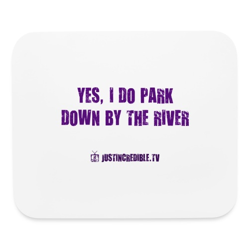 Down by the river - Mouse pad Horizontal