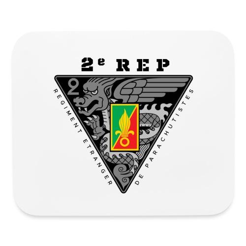 2e REP - Foreign Legion - Badge - Dark - Mouse pad Horizontal