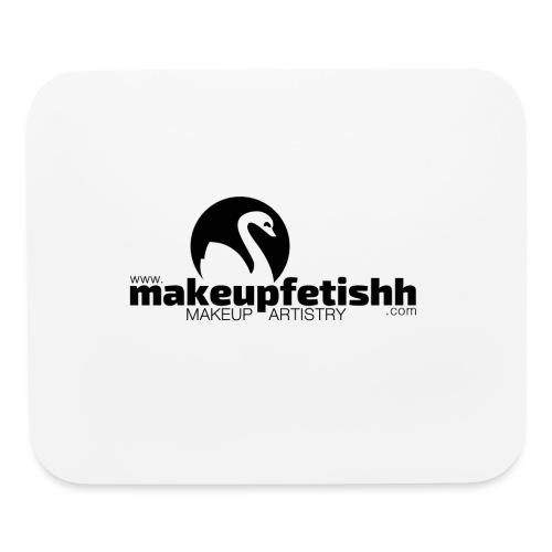 makeupfetishh logo black - Mouse pad Horizontal