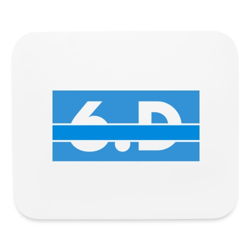 6.D logo - Mouse pad Horizontal