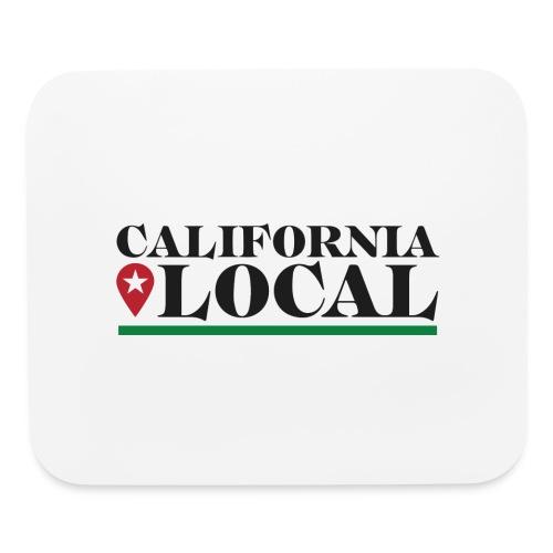 California Local Dark on Light - Mouse pad Horizontal