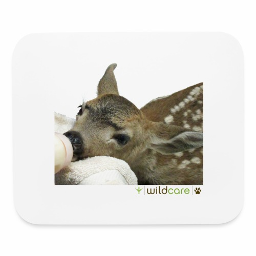 Orphaned Deer at WildCare - Mouse pad Horizontal