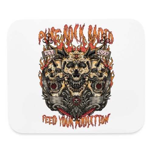 PRR Molenoise Skull (Front Only) - Mouse pad Horizontal