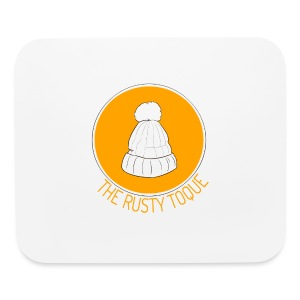 The Rusty Toque Orange Logo Brand - Mouse pad Horizontal