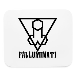 Falluminati on your phone by Umberto Lizard - Mouse pad Horizontal