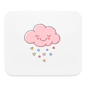 Raining Hearts - Mouse pad Horizontal