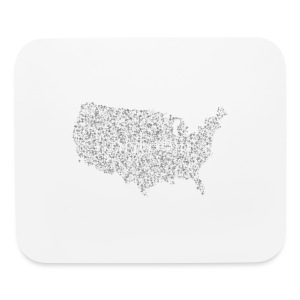 God is in America - Mouse pad Horizontal