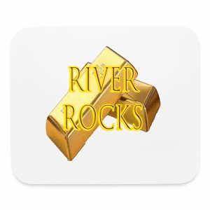 RIVER ROCKS MOUSEPAD (DADS BOOK) - Mouse pad Horizontal