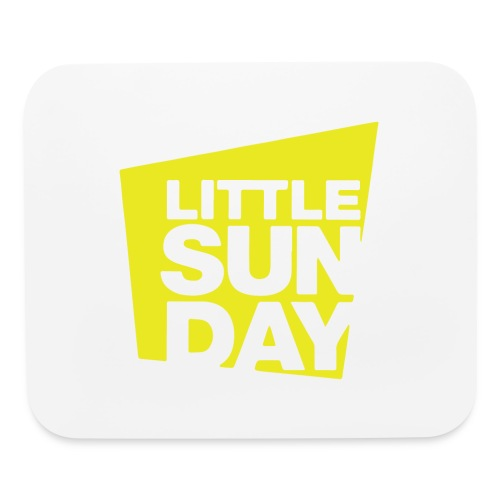 littleSUNDAY Official Logo - Mouse pad Horizontal