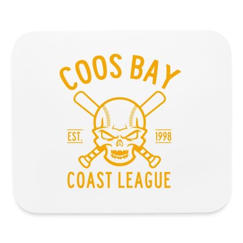 Coos Bay Coast League 1-color Gold - Mouse pad Horizontal