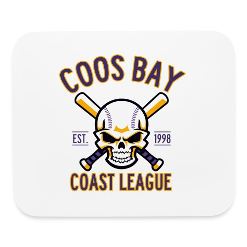 Coos Bay Coast League on White or Gray - Mouse pad Horizontal