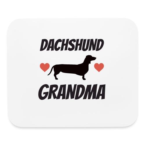 Dachshund Grandma - Mouse pad Horizontal