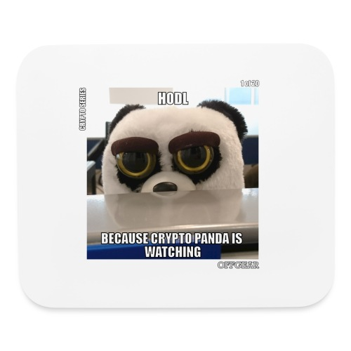 Crypto Panda Is Watching (Crypto Series) - Mouse pad Horizontal