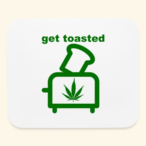 GET TOASTED - Mouse pad Horizontal