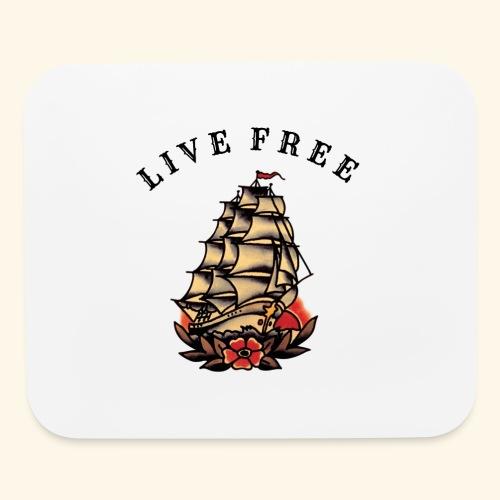 LIVE FREE - Mouse pad Horizontal