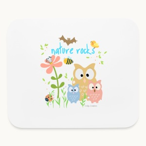 NATURE ROCKS CHILDREN Carolyn Sandstrom THR - Mouse pad Horizontal