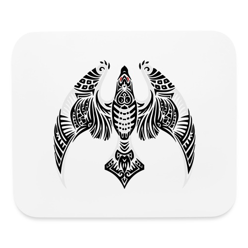 Hawk Totem - Mouse pad Horizontal