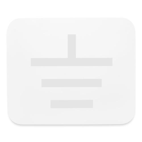 GROUNDED - BASEBALL CAP - Mouse pad Horizontal