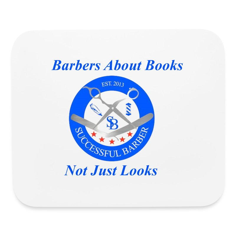 Barbershop Books - Mouse pad Horizontal