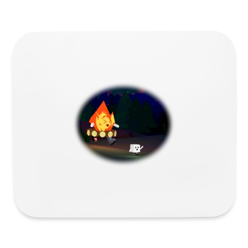 'Round the Campfire - Mouse pad Horizontal