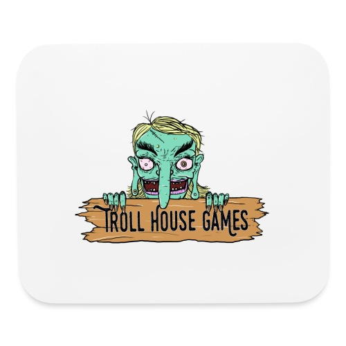 Troll House Games Cartoon Logo - Mouse pad Horizontal