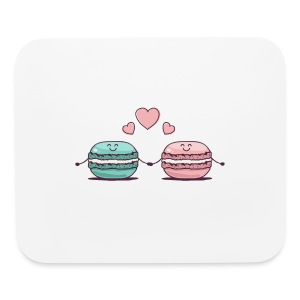 Macarons Couple - Mouse pad Horizontal