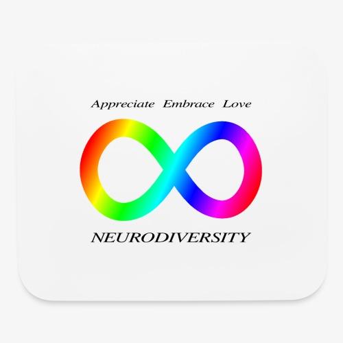Embrace Neurodiversity - Mouse pad Horizontal