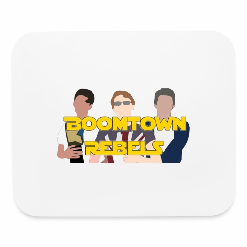 boomtown rebelst - Mouse pad Horizontal