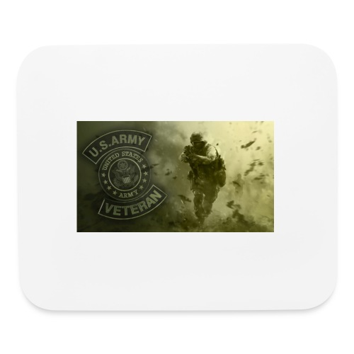 u.s Army Vet Mouse Pad - Mouse pad Horizontal