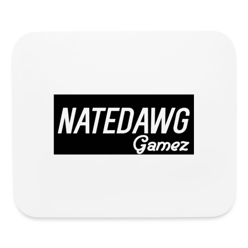 White And Grey/Black Merch - Mouse pad Horizontal