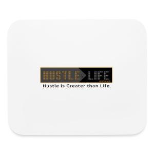 Hustle_Life - Mouse pad Horizontal