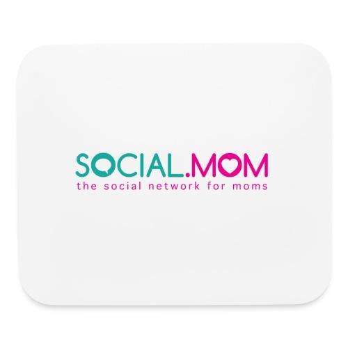 Social.mom Logo English - Mouse pad Horizontal