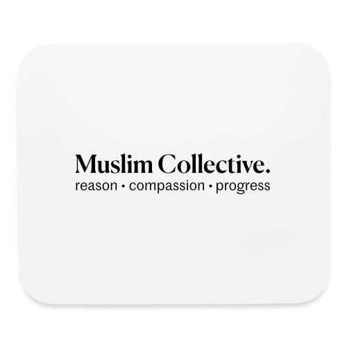 Muslim Collective Logo + tagline - Mouse pad Horizontal