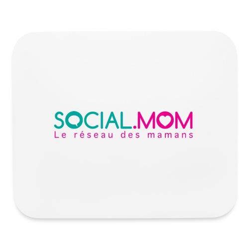 Social.mom logo français - Mouse pad Horizontal