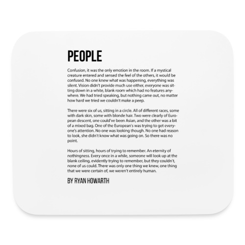 People - Mouse pad Horizontal