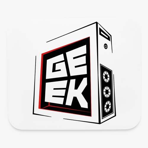 Tower Geek Outline - Mouse pad Horizontal