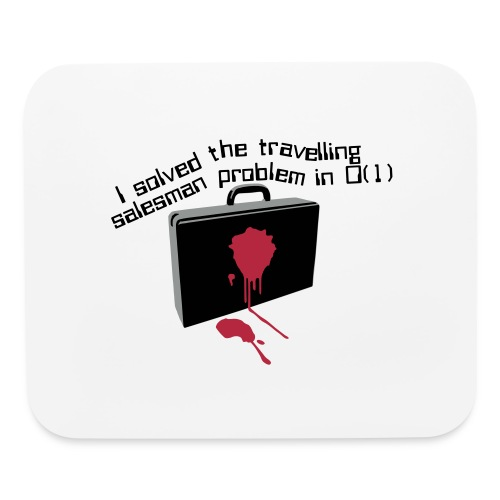 The travelling salesman problem - Mouse pad Horizontal