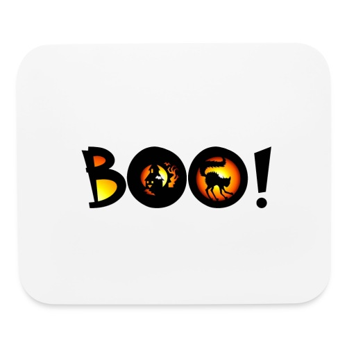Happy Halloween Boo 5 - Mouse pad Horizontal
