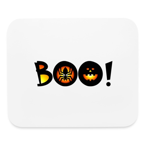 Happy Halloween Boo 6 - Mouse pad Horizontal