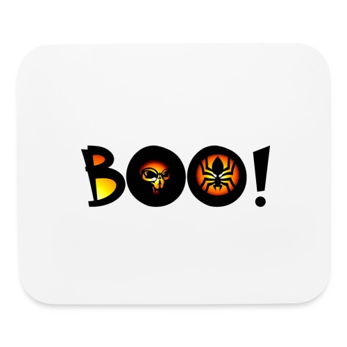 Happy Halloween Boo 4 - Mouse pad Horizontal