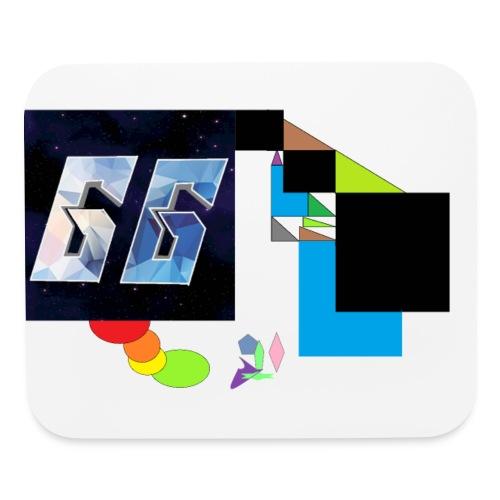 Abstract art logo - Mouse pad Horizontal