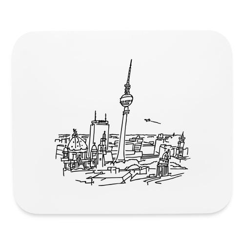 Panorama of Berlin - Mouse pad Horizontal